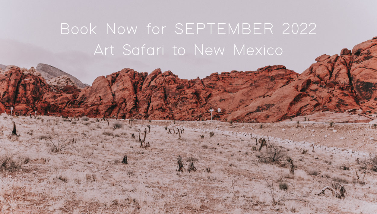 The Painted Desert: Retreat to New Mexico and Santa Fe